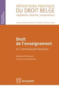 Droit de lenseignement en Communauté française.pdf