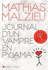 Mathias Malzieu - Journal d'un vampire en pyjama. 1 CD audio