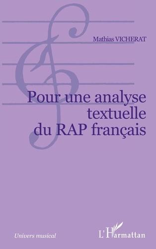 Pour Une Analyse Textuelle Du Rap Francais