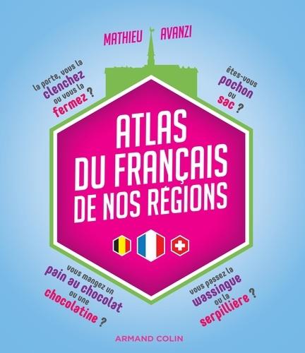 Atlas du français de nos régions - Format PDF - 9782200621858 - 12,99 €