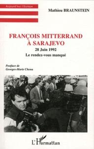 Openwetlab.it François Mitterrand à Sarajevo - 28 juin 1992, le rendez-vous manqué Image