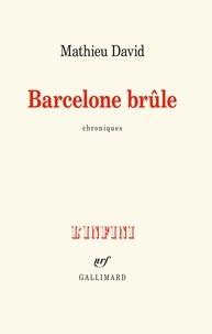 Mathieu David - Barcelone brûle - Chroniques.