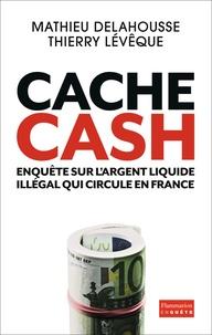 Mathieu Delahousse et Thierry Lévêque - Cache Cash - Enquête sur l'argent liquide illégal qui circule en France.