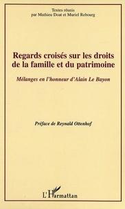 Mathieu Doat et Muriel Rebourg - Regards croisés sur les droits de la famille et du patrimoine.