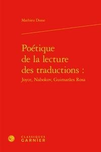 Poétique de la lecture des traductions : Joyce, Nabokov, Guimaraes Rosa.pdf