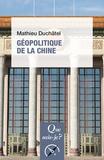 Mathieu Duchâtel - Géopolitique de la Chine.
