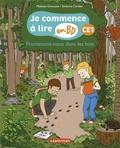 Mathieu Grousson et Séverine Cordier - Je commence à lire en BD - CE1  : Promenons-nous dans les bois.