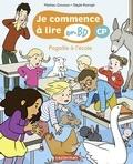Mathieu Grousson et Sibylle Ristroph - Je commence à lire en BD - CP  : Pagaille à l'école.