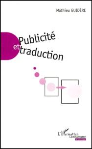 Mathieu Guidère - Publicité et traduction.