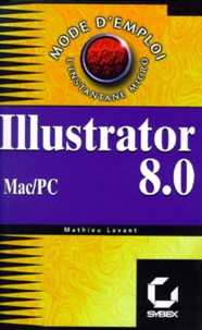 Deedr.fr ILLUSTRATOR 8. - 0. Mac OS et Windows Image