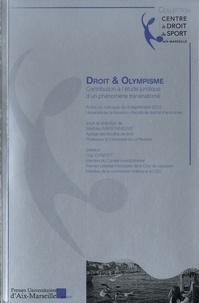 Mathieu Maisonneuve - Droit et olympisme - Contribution à l'étude juridique d'un phénomène transnational.