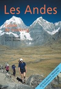 Mathieu Méranville et Cathy Biggar - Les andes - Guide de trekking.