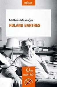 Mathieu Messager - Roland Barthes.