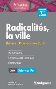 Mathieu Monthéard - Radicalités, la ville - Thèmes IEP.