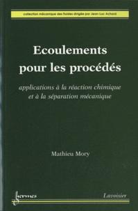 Deedr.fr Ecoulements pour les procédés - Applications à la réaction chimique et à la séparation mécanique Image