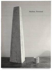 Mathieu Provansal - Volume - sic.