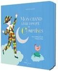 Mathieu Prual et Yves Prual - Mon grand livre-disque de comptines - Un livre-disque, un triptyque. 1 CD audio