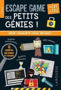 Mathieu Quénée - Escape game des petits génies ! - Du CE1 au CE2.