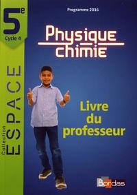Openwetlab.it Physique-Chimie 5e Espace - Livre du professeur Image
