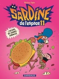 Mathieu Sapin - Sardine de l'Espace Tome 11 : L'archipel des hommes-sandwichs.