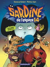 Mathieu Sapin et Emmanuel Guibert - Sardine de l'Espace Tome 14 : L'intelligence Archificelle.