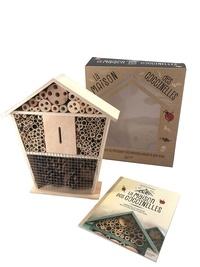 Mathieu Staiquly - La maison des coccinelles - Avec 1 livre et 1 hôtel à coccinelles.