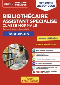 Mathilde Barthe et Jérôme Brunet - Concours bibliothécaire assistant spécialisé classe normale - Catégorie B Externe, interne.