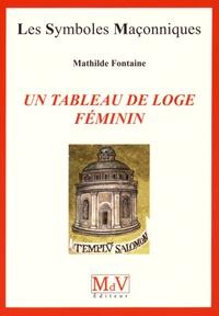 Mathilde Fontaine - Un tableau de loge féminin.