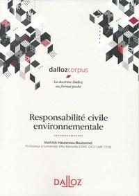 Mathilde Hautereau-Boutonnet - Responsabilité civile environnementale.