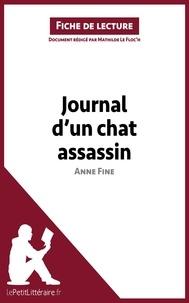 Mathilde Le Floc'h - Journal d'un chat assassin de Anne Fine - Fiche de lecture.