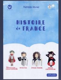 Mathilde Olivier - Histoire de France - 4 volumes.