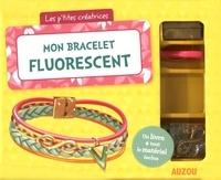 Mathilde Paris et  Shiilia - Mon bracelet fluorescent - Avec 1 cordelette, 2 charms, 1 lanière tressée, 1 fermoir aimanté et des anneaux de raccord.