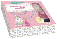 Mathilde Paris et  Shiilia - Mon joli collier licorne magique - Avec 1 livre, 1 chaîne, 1 pendentif licorne, 1 pompon rose, des anneaux de raccord.
