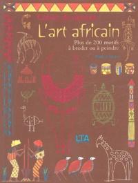 Mathilde Riener - L'art africain - Cahier de dessins.
