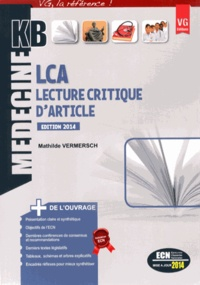 Mathilde Vermersch - LCA Lecture Critique d'Article.