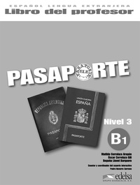 Matilde Cerrolaza - Pasaporte B1 Libro del Profesor.