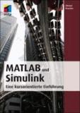 MATLAB und Simulink - Eine kursorientierte Einführung.