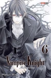 Matsuri Hino - Vampire Knight Mémoires T06.