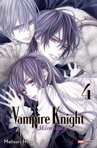 Matsuri Hino - Vampire Knight Mémoires Tome 4 : .