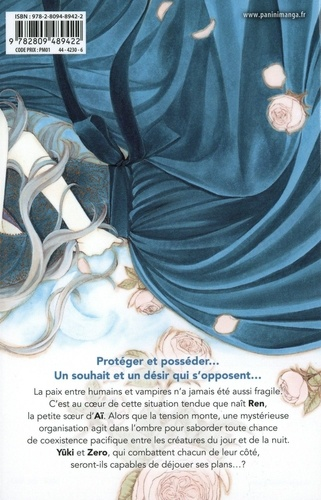 Vampire Knight Mémoires Tome 5