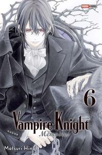 Matsuri Hino - Vampire Knight Mémoires Tome 6 : .