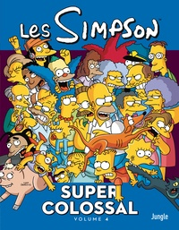 Matt Groening - Les Simpson - Super colossal Tome 4 : .