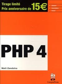 Matt Zandstra - PHP 4. 1 Cédérom