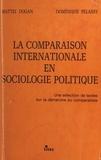 Mattei Dogan et Dominique Pélassy - La comparaison internationale en sociologie politique : une sélection de textes sur la démarche du comparatiste.