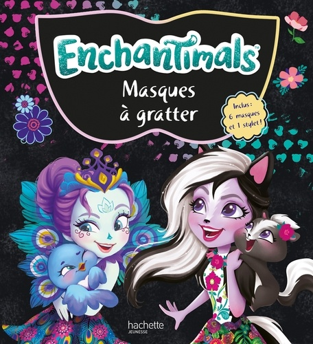 Masques A Gratter Enchantimals Avec 1 Stylet Grand Format