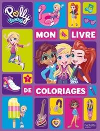 Mattel - Mon livre de coloriages Polly Pocket.