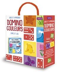 Matteo Gaule - Domino couleurs - Livre de 10 pages et 28 cartes domino.