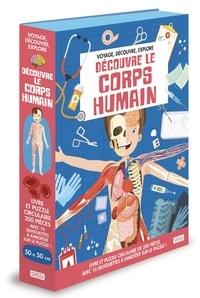 Matteo Gaule - Le corps humain - Avec 1 puzzle circulaire de 200 pièces.