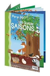 Matteo Gaule et Ester Tomè - Les quatre saisons - Livre pop-up à 360°.