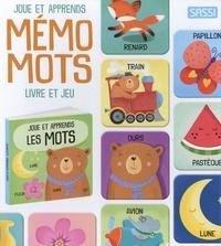 Matteo Gaule et Sarah Negrel - Mémo mots - Livre de 10 pages et 28 cartes mémo.